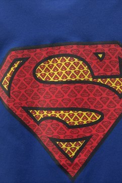 superman t-shirt blauw