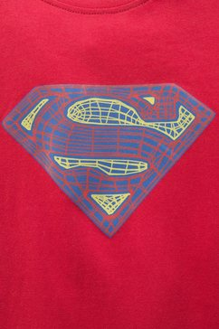 superman t-shirt rood