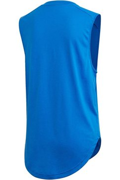 adidas performance tanktop »w must have gr tank« blauw