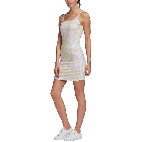 adidas Originals jurk met spaghettibandjes ADICOLOR TANK DRESS