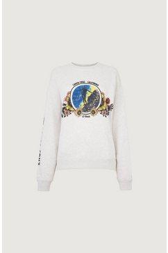 o'neill sweatshirt »ohlone« wit