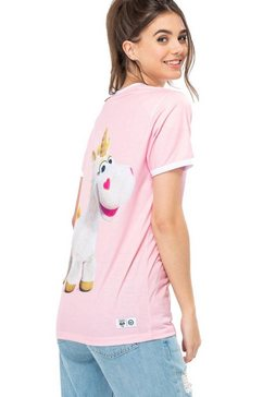 hype t-shirt »toy story 4 damen buttercup« roze
