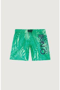 o'neill zwemshort »cali floral« groen