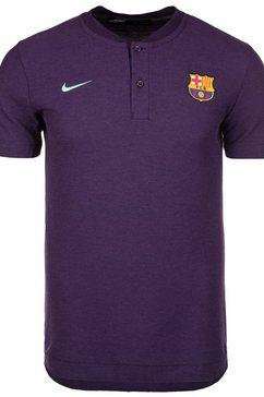 nike t-shirt »fc barcelona« paars
