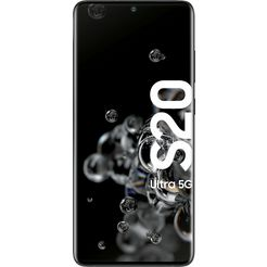 samsung galaxy s20 ultra 5g smartphone (17,44 cm - 6,9 inch, 128 gb, 108 mp camera) zwart