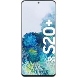 samsung galaxy s20+ 5g smartphone (16,95 cm - 6,7 inch, 128 gb, 12 mp camera) blauw