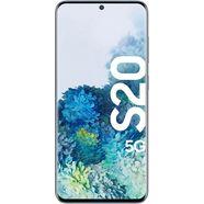 samsung galaxy s20 5g smartphone (15,83 cm - 6,2 inch, 128 gb, 12 mp camera) blauw