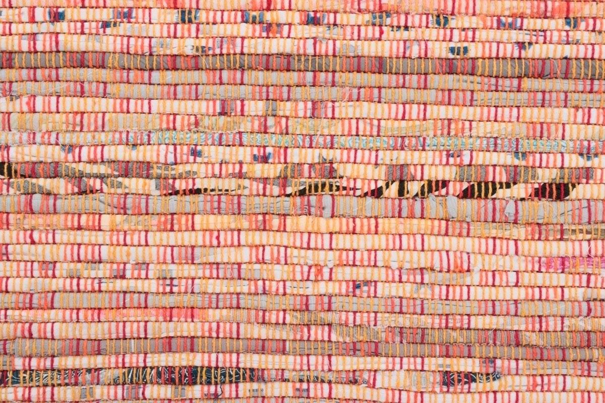 Carpetfine vloerkleed »Kelim Chindi«, rechthoekig, hoogte 6 mm, handgeweven nu online kopen bij OTTO