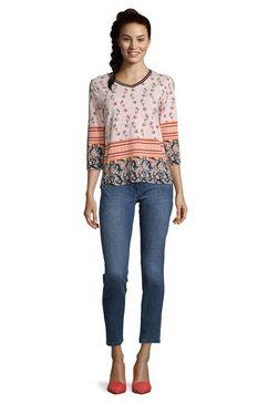 betty barclay sweatshirt »mit v-ausschnitt« roze