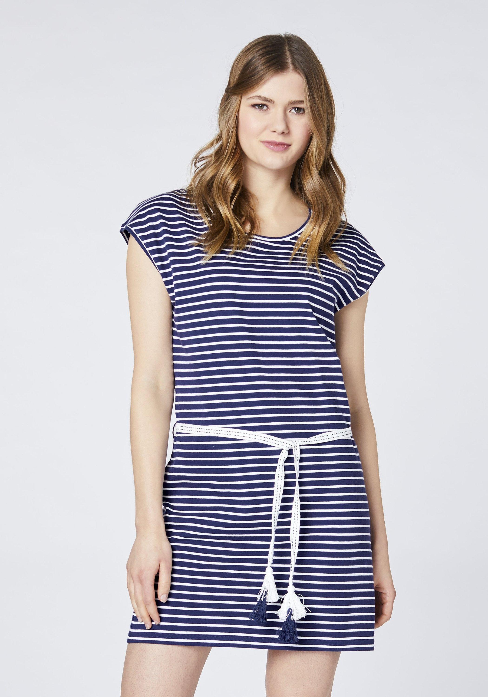 Oklahoma Jeans jurk »mit Tassel Gürtel« goedkoop op otto.nl kopen