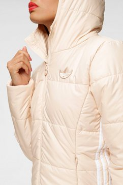 adidas originals gewatteerde jas »slim jacket« beige