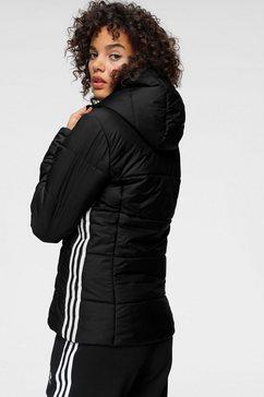 adidas originals gewatteerde jas »slim jacket« zwart