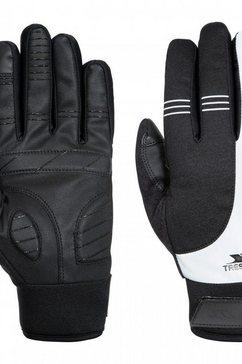 trespass multisporthandschoenen »unisex erwachsene franko sport touchscreen handschuhe« zwart