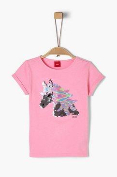 s.oliver jerseyshirt_voor meisjes roze