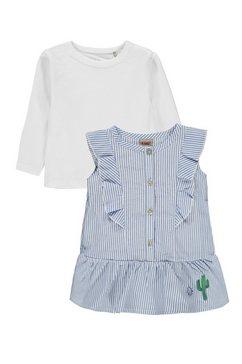kanz set: jurk en shirt met lange mouwen 2-delig »sunny«, (2)