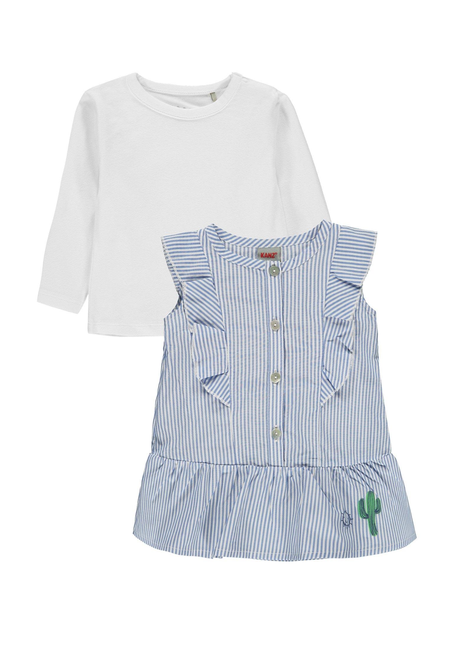 Kanz Set: jurk en shirt met lange mouwen 2-delig »Sunny«, (2) nu online bestellen