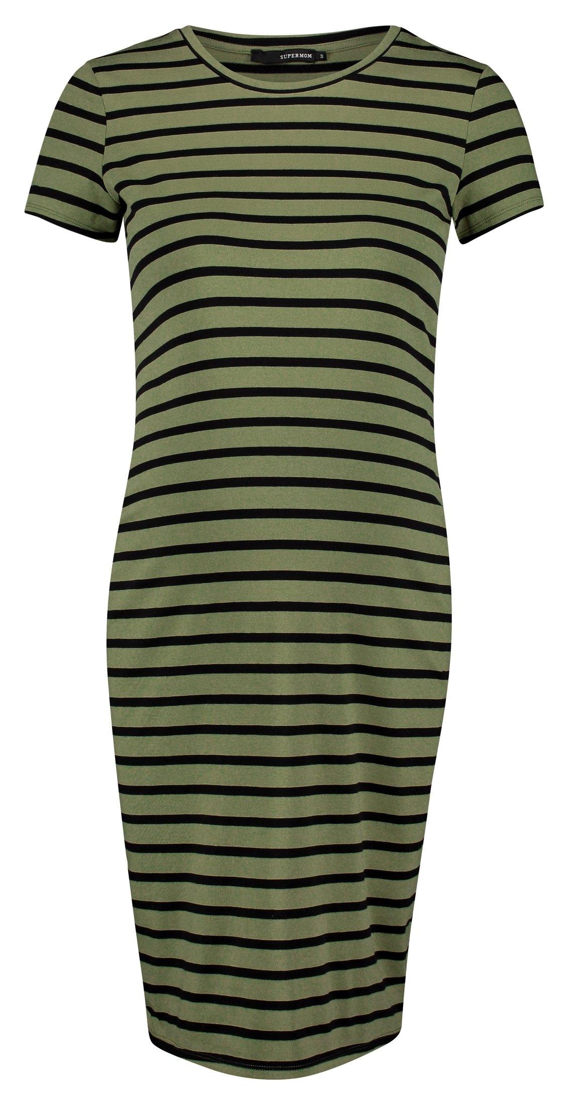 Supermom jurk »Striped« - verschillende betaalmethodes