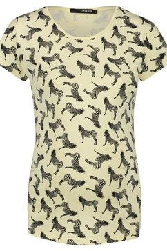 supermom t-shirt »zebra« geel