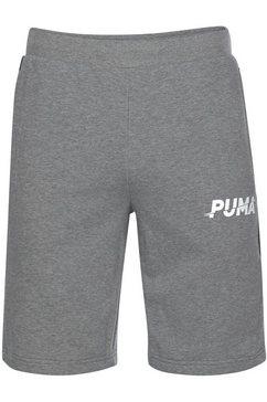puma sweatshort »modern sports shorts 10`« grijs