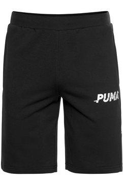 puma sweatshort »modern sports shorts 10`« zwart