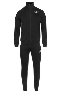 puma sportpak »clean sweat suit« zwart