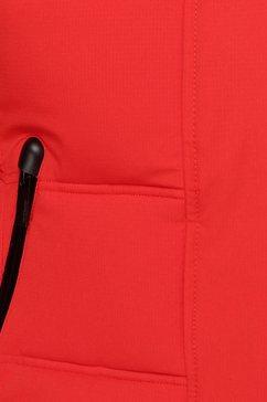icepeak gewatteerde jas »blackey« rood