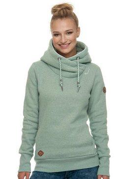 ragwear hoodie »gripy bolt« groen