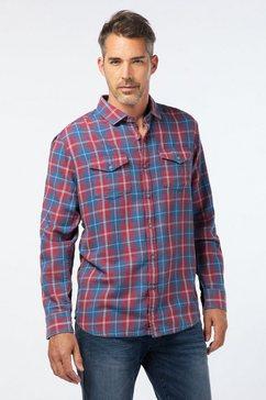 pioneer authentic jeans shirt »pioneer freizeithemd voor herren« rood