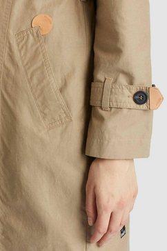 khujo trenchcoat »amele« bruin