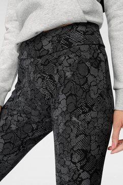 puma legging »ka aop leggings« zwart