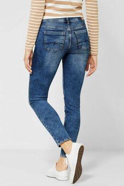 street one slim fit jeans »york« blauw