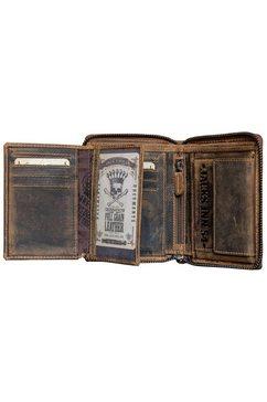 jack's inn 54 portemonnee »bullshot« bruin