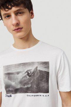 o'neill t-shirt »lm photoprint« wit