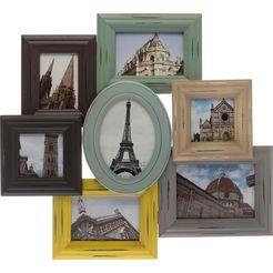 home affaire fotolijstje »andrea« multicolor