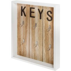 home affaire sleutelkastje »serin« wit