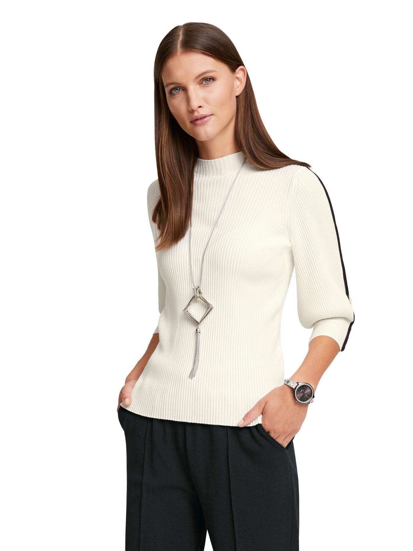 RICK CARDONA by Heine trui met staande kraag met contraststrepen in de webshop van OTTO kopen