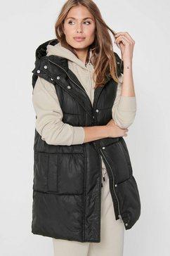 only bodywarmer onldemy padded waistcoat zwart
