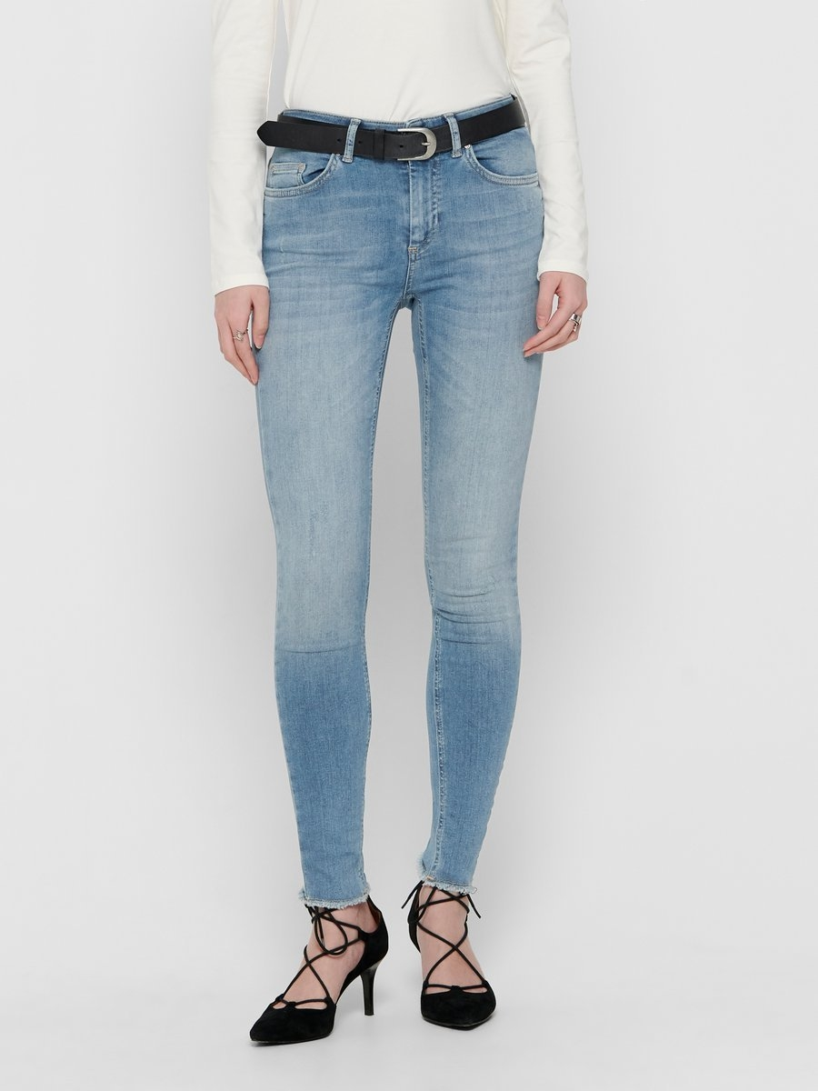 ONLY ONLBlush mid ankle raw Skinny jeans bij OTTO online kopen