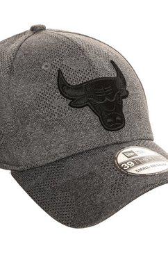 new era fitted cap »39thirty nba chicago bulls engineered« zwart