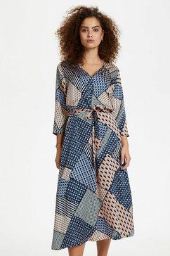 kaffe blousejurkje »kaselina dress 3-4« blauw
