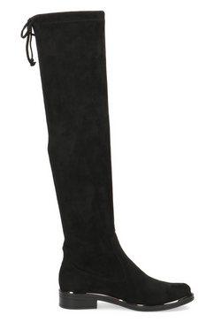 caprice overknee-laarzen zwart