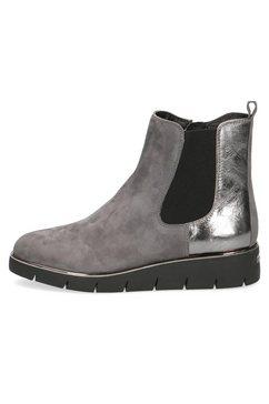 caprice chelsea-boots grijs