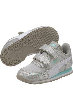 puma sneakers »cabana racer glitz v inf« zilver