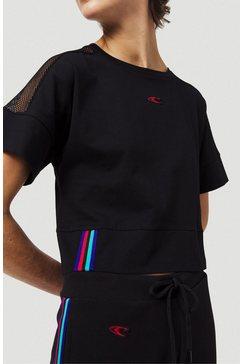 o'neill t-shirt »loose cropped« zwart