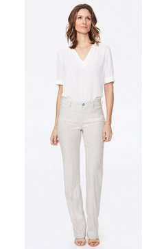 nydj trouser »in stretch linen« beige