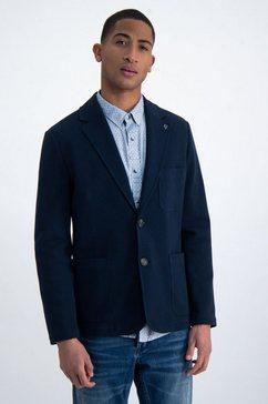 garcia korte blazer blauw