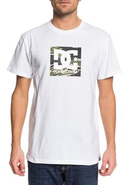 dc shoes - square star - t-shirt voor heren wit