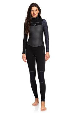 roxy wetsuit met een borstrits »4-3mm syncro plus« multicolor
