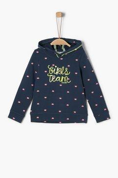 s.oliver junior sweatshirt blauw