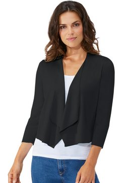 lady vest in korte bolerostijl zwart
